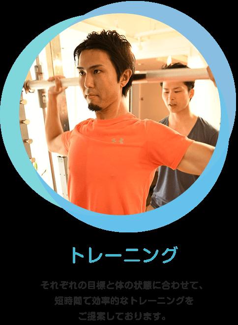 画像:トレーニング